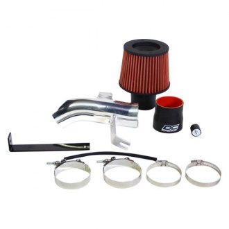 DC Sports® - Aluminum Polished Short Ram Air Intake System