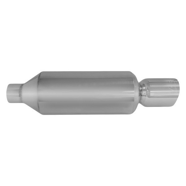 DC Sports® - Polished Stainless Steel Slant Cut Round Tip