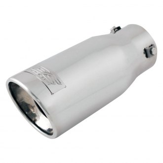 DC Sports® - Round Bolt-On Exhaust Tip