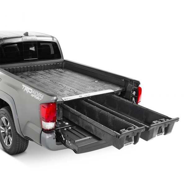 decked toyota tacoma 2016 midsize truck bed storage system carid com. Black Bedroom Furniture Sets. Home Design Ideas
