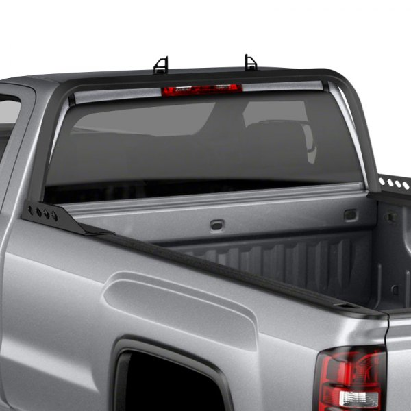 Dee Zee DZ95073RB Gloss Black Rear Aluminum Truck Rack