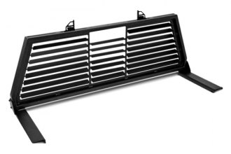 Dee Zee® DZ95050WSLB - Black Steel Louvered Cab Rack