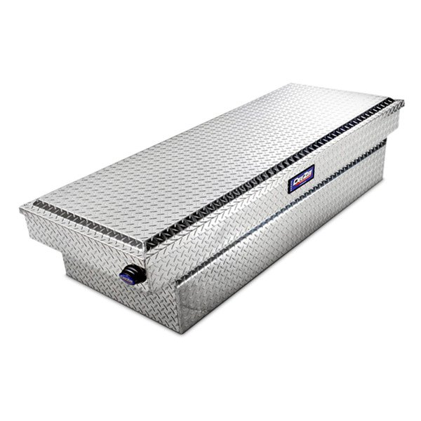 Dee Zee® - Blue Label Brite Diamond-Tread Single Lid Crossover Tool Box