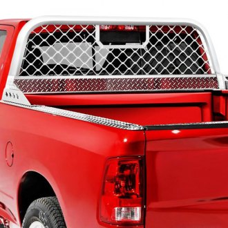 Truck Headache Racks Louvers Mesh Ladder Rack Light