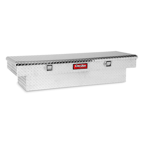 Dee Zee® - Red Label Brite Diamond-Tread Single Lid Crossover Tool Box