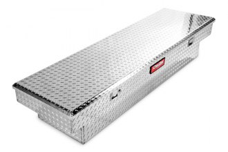 Dee Zee® - Red Lable Brite Diamond-Tread Single Lid Crossover Tool Box