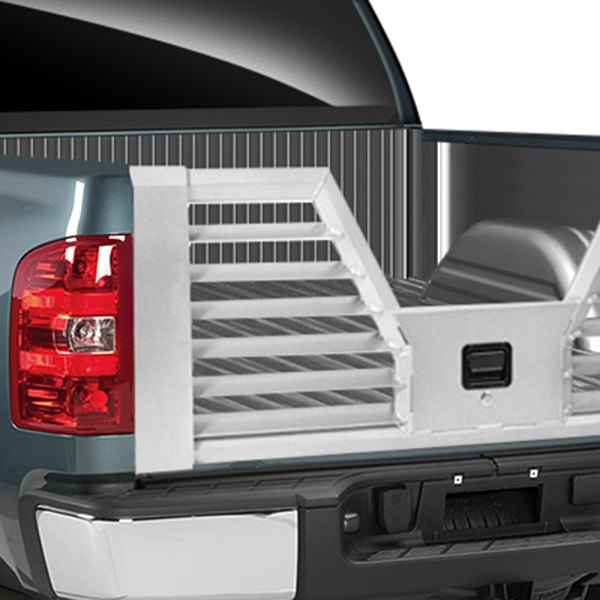 Dee Zee® - Silver Louvered Flow-Thru Tailgate Installed