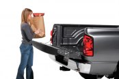 Image may not reflect your exact vehicle! Dee Zee® - Tailgate Assist in Use