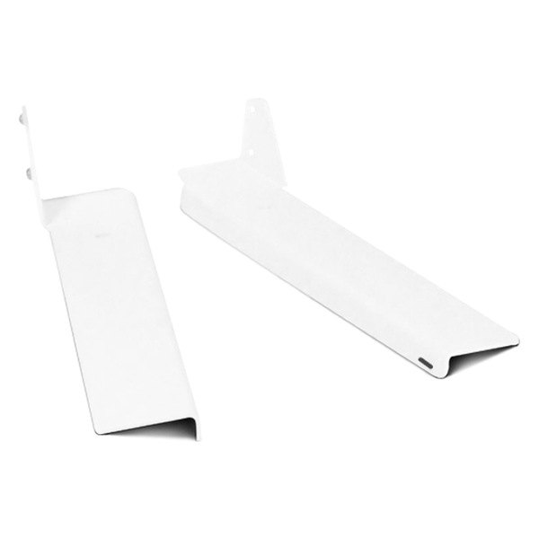 Dee Zee® - White Steel Cab Rack Mounting Brackets
