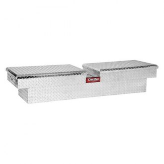 Dee Zee® - Standard Dual Lid Gull Wing Pull Handle Crossover Tool Box
