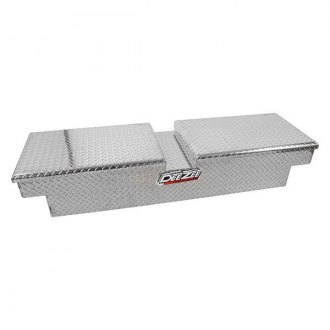 Dee Zee® - Red Label Standard Dual Lid Gull Wing Paddle Handle Crossover Tool Box
