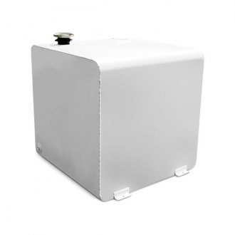 Dee Zee® - Textured White Powder Coated Steel Square Fuel Transfer Tank