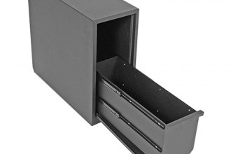 "Dee Zee® - Black Steel Single Wheel Well Box (1.9 cu.ft., 20.5""x8.5""x18.88')"