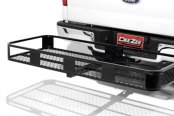 Image may not reflect your exact vehicle! Dee Zee® - Folding Style Cargo Carrier Installed