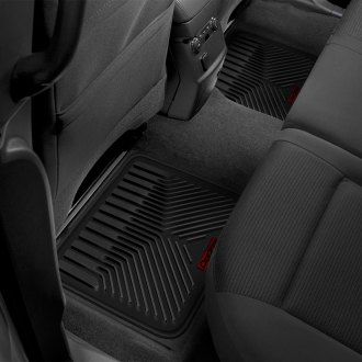 Dee Zee® - All Weather Black Rear Floor Mats