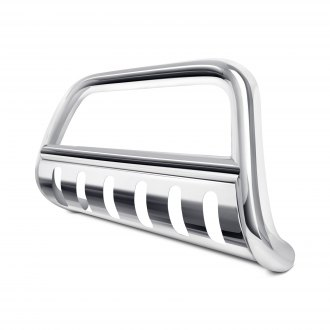 "Dee Zee® - 3"" Polished Bull Bar with Skid Plate"