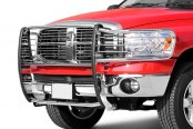 Dee Zee® - Stainless Steel Euro Grille Guard Installed on Dodge Ram