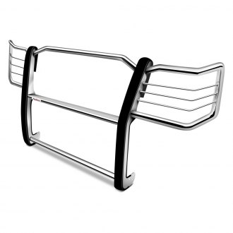 Dee Zee® - Euro Style Polished Stainless Steel Grille Guard