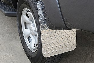 "Dee Zee® - 12"" x 19"" Textured Black Mud Flaps"