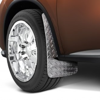 Dee Zee® - Diamond Plate Mud Flaps
