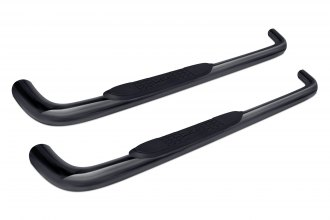 "Image may not reflect your exact vehicle! Dee Zee® - 3"" Black Round Nerf Bars"