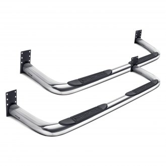 "Dee Zee® - 3"" Polished Round Nerf Bars"