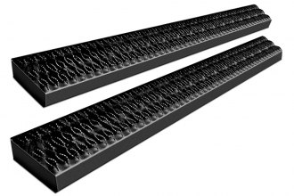 "Dee Zee® - 7"" Rough Step™ Black Running Boards"