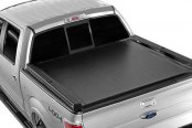 Image may not reflect your exact vehicle! Dee Zee® - Lo Pro QT Invis-A-Rack Tonneau Cover