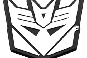 DefenderWorx® - Two Tone Transformers™ Decepticon Badge