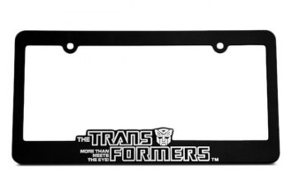 DefenderWorx® - Autobot License Frame