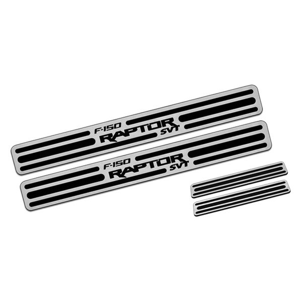 DefenderWorx® - Two Tone Door Sills with Raptor Logo