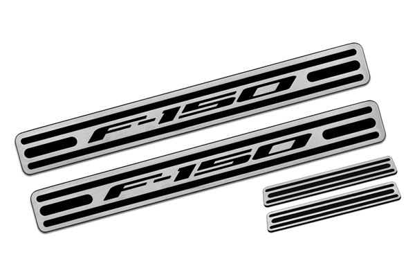 DefenderWorx® - Two Tone Door Sills with F-150 Logo