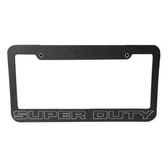 DefenderWorx® - Black License Frame