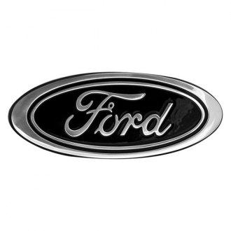 Black Ford Emblem Fusion >> Ford Custom Grille Emblems - CARiD.com