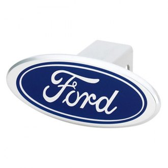 DefenderWorx® - Image Design Blue Oval Hitch Cover with Ford Logo