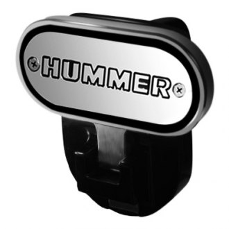 "DefenderWorx® - Hitch Step with Hummer Logo for 2"" Receiver"