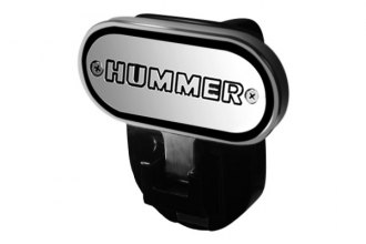 "DefenderWorx® - Hitch Step with ""Hummer"" Logo for 2"" Receiver"