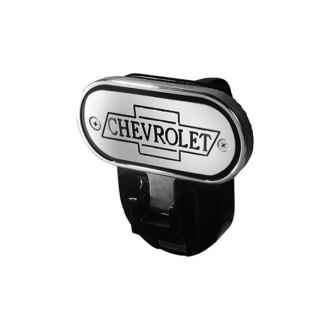 "DefenderWorx® - Hitch Step with Chevrolet Logo for 2"" Receiver"