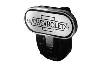 "DefenderWorx® - Hitch Step with ""Chevrolet"" Logo for 2"" Receiver"