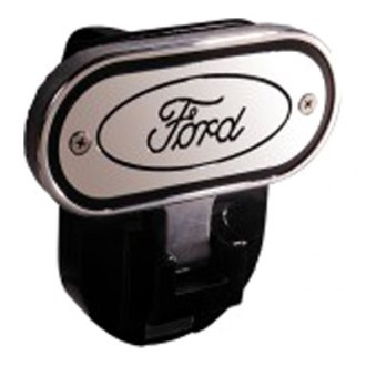 "DefenderWorx® - Hitch Step with Ford Logo for 2"" Receiver"