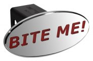 DefenderWorx® - Bite Me Style Red Hitch Cover