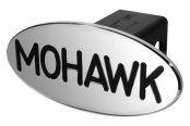 DefenderWorx® - Black Hitch Cover - Mohawk Style