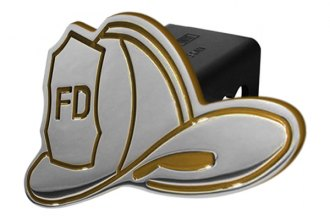DefenderWorx® - Yellow Hitch Cover - Fireman's Hat Style