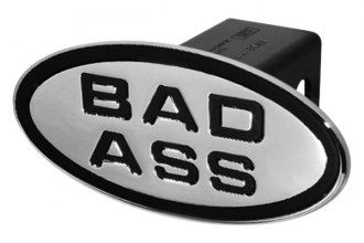 DefenderWorx® - Black Hitch Cover - Bad Ass Style