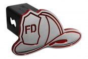 DefenderWorx® - Red Hitch Cover - Fireman\\