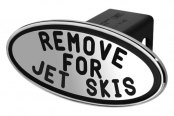 DefenderWorx® - Black Hitch Cover - Remove for Jet Skis Style