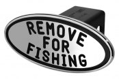 DefenderWorx® - Black Hitch Cover - Remove for Fishing Style