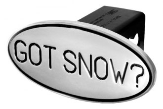 DefenderWorx® - Black Hitch Cover - Got Snow Style