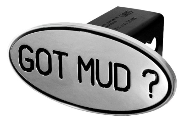 DefenderWorx® - Black Hitch Cover - Got Mud Style