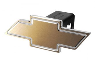 DefenderWorx® - Chevy Style Gold Hitch Cover with Cutout Bowtie